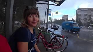 Санкт-Петербург,июль, 2020.Катаемся на велосипедах по городу.