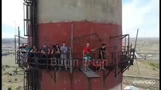 Экстремалдық секіру Капшагай | Экстрим прыжки на Капачагае Алматы | прыжки с башни | прыжок с высоты