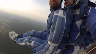 Прыжок с парашютом, супер экстрим