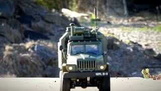 WPL Ural B36 1.16 6x6 Military Communications Vehicle  - Awesome Trail