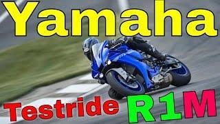 Testride Yamaha R1M 2020 мотоцикл ямаха р1м спортбайк 2020 года