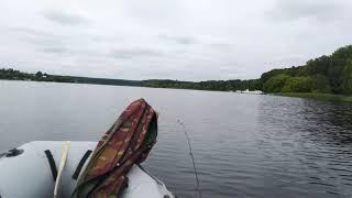Покатушки и рыбалка на водохранилище.