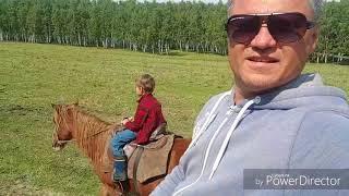 Боровое. Катаемся на лошадях. Конная прогулка Бурабай