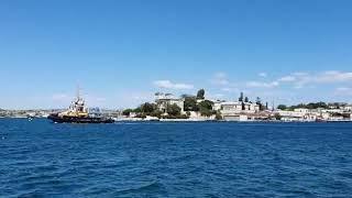 Морская прогулка на теплоходе в Южную и Севастопольскую бухты