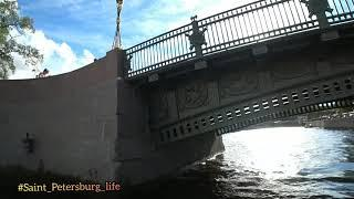 Russia /Saint-Petersburg /boat trip / прогулка на теплоходе по каналам #Saint_Petersburg_life