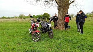 Покатушки на мотоциклах Musstang Region MT 150-8 , Lifan lf 150-2e, Loncin cr1