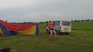 Экстрим Кемерово первый вылет на парашют ут-15