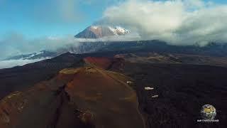 Мир Приключений - Вулканы Камчатки. Мертвый лес. Вулкан Толбачик. 4K. Tolbachik volcano. Kamchatka.