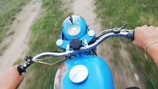 Крайние покатушки на Иж Юпитер 2  Последний выпуск мотоцикла  Мини обзор что сделалось